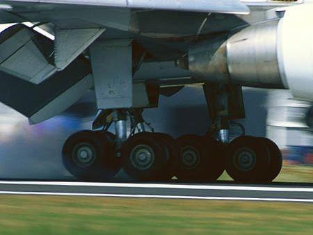 Podvozek dopravního letadla