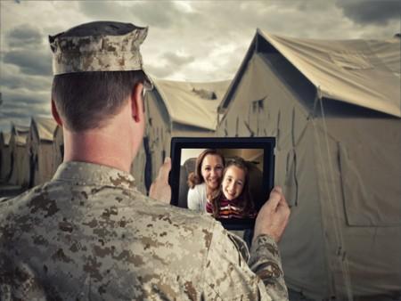 Voják vzpomíná na rodinu